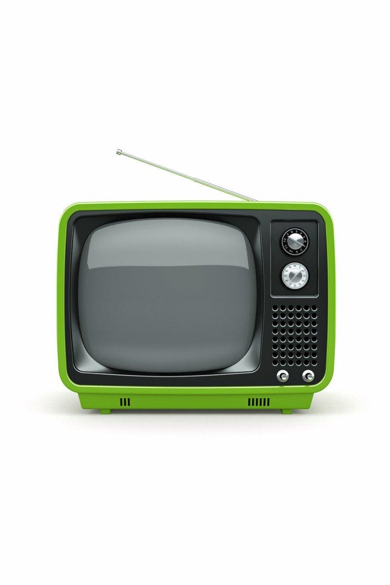 green-retro-tv
