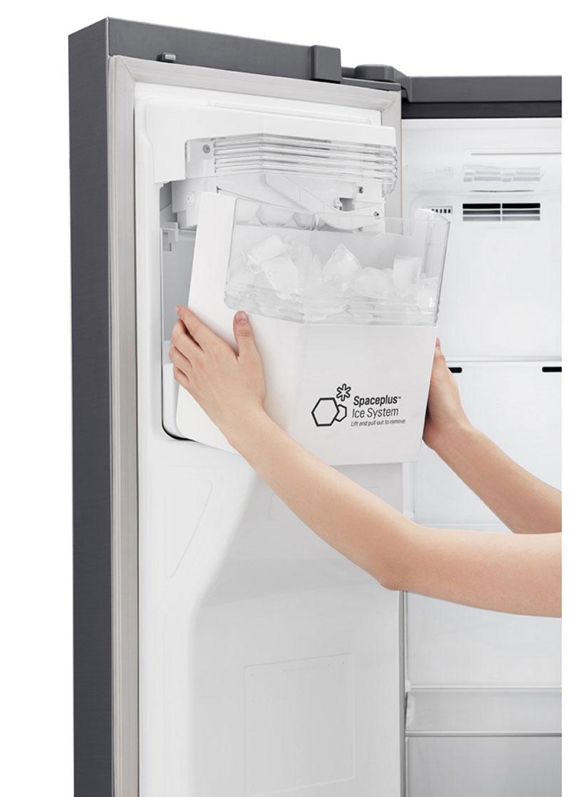 یخساز اتوماتیک یخچال ال جی مدل GS-J247SVUV