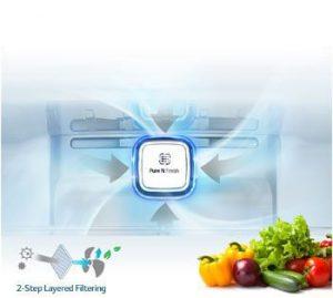 سیستم تازه نگه داشتن هوای تازه داخل یخچال