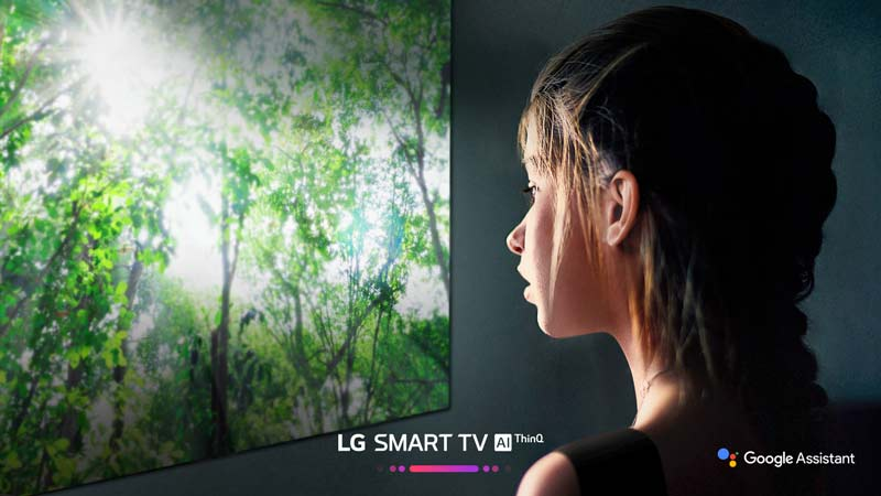 هوش مصنوعی در تلویزیون 49 اینچ ال جی