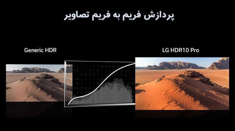 کیفیت تصویر HDR