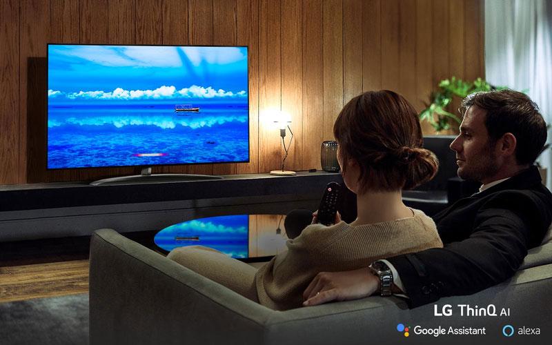 هوش مصنوعی در تلویزیونهای ال جی