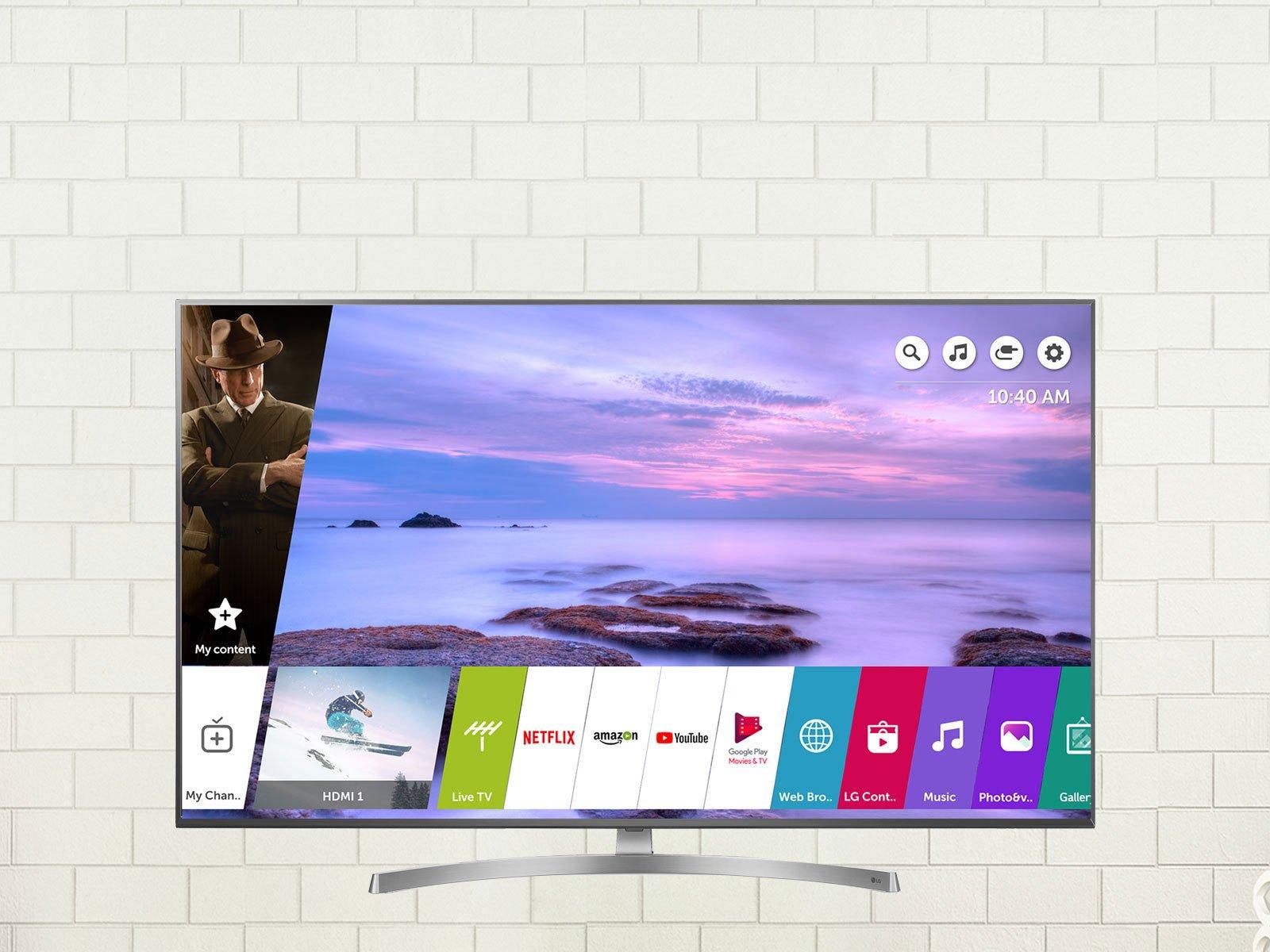 تلویزیون هوشمند 55 اینچ ال جی