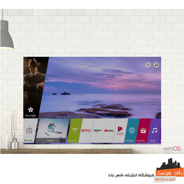 تلویزیون 50 اینچ 4K ال جی 50UK6500