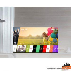 تلویزیون 70 اینچ 4K ال جی 70UJ657