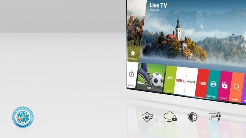 تلویزیون هوشمند ال جی مدل 65UJ630V