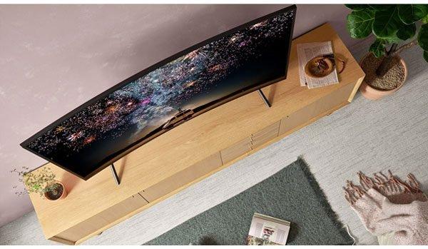 ضخامت تلویزیون سامسونگ 49 اینچ مدل RU7300
