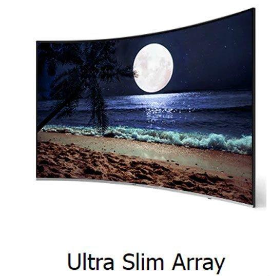 طراحی تلویزیون سامسونگ 55 اینچ مدل NU8500K