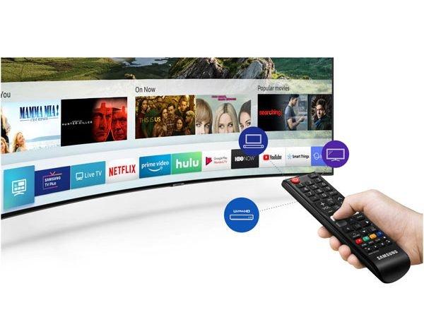 امکانات تلویزیون سامسونگ 55 اینچ مدل RU7300