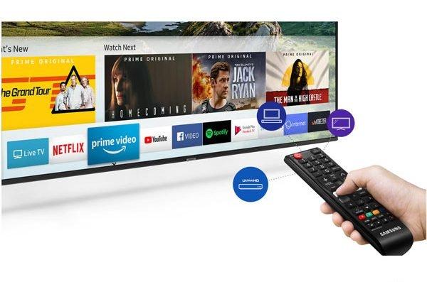 کنترل تلویزیون 4k سامسونگ 65 اینچ RU7100
