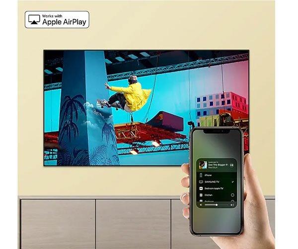 سیستم عامل تلویزیون 4k سامسونگ 65 اینچ RU7100