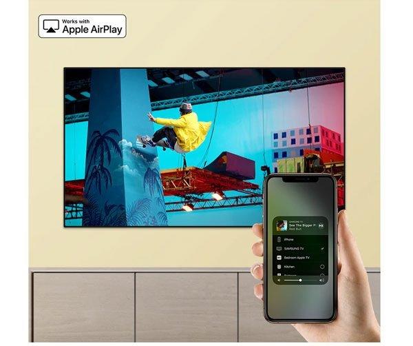 اتصال گوشی به تلویزیون سامسونگ 65 اینچ مدل RU7300