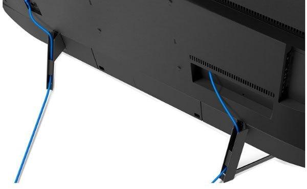 نمای پشت تلویزیون سونی 65 اینچ مدل x9500g
