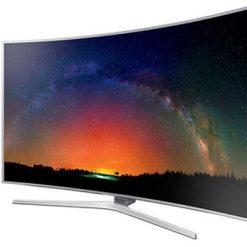 نمای زاویه راست تلویزیون سامسونگ 55JS9000