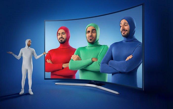 تلویزیون 4K با پنل سه رنگ RGB