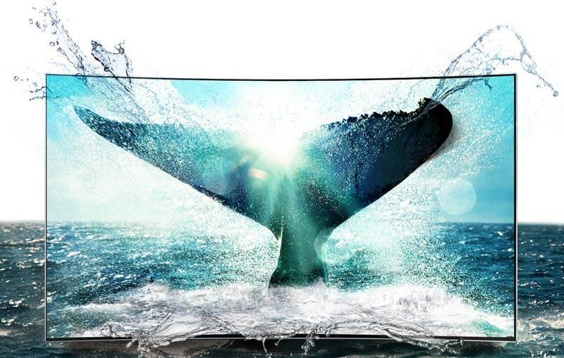 صفحه نمایش 4k سامسونگ 55KS9500