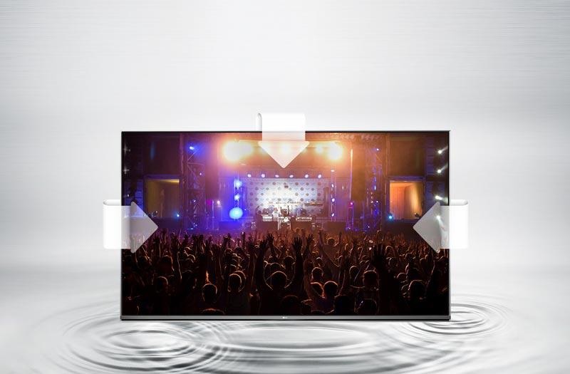 کیفیت صدای فراگیر در تلویزیون ال جی