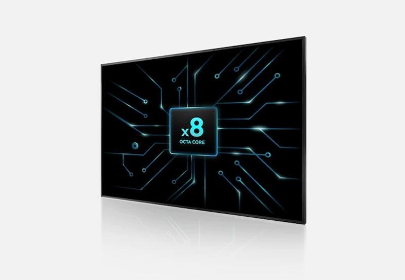 پردازنده 8 هستهای تلویزیون سامسونگ 4K