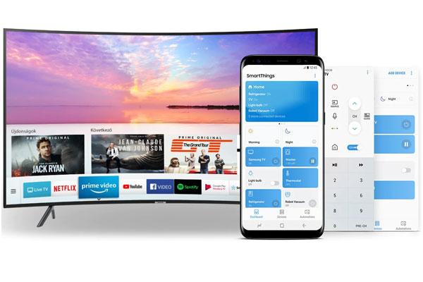 امکانات هوشمند تلویزیون اسمارت NU7302K