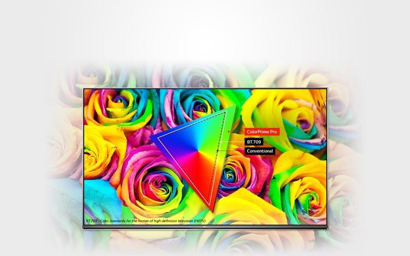 تکنولوزی تصویر تلویزیون 4k ال جی