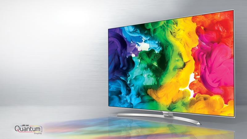 کیفیت تصویر تلویزیون ال جی 65UH950V
