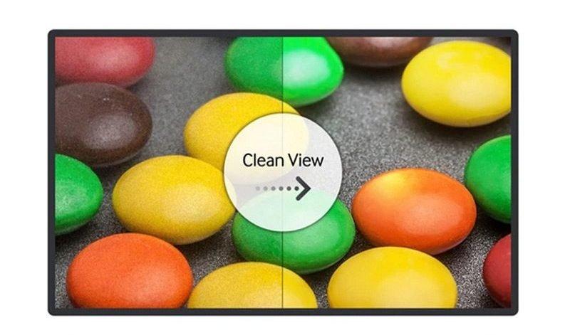 قابلیت Clean View سامسونگ مدل 49K5100