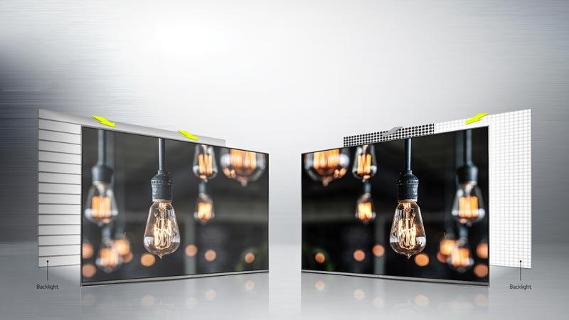 فناوری لوکال دایمنیگ در تلویزیون 4K ال جی