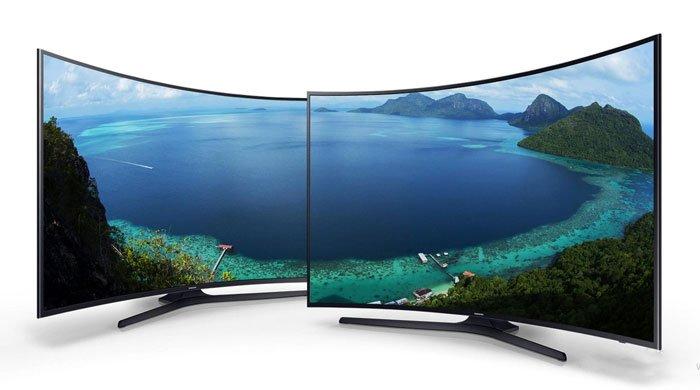 تلویزیون منحنی سامسونگ KU7350