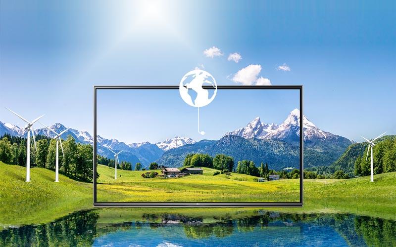 تلویزیون کم مصرف ال جی 49UH750V