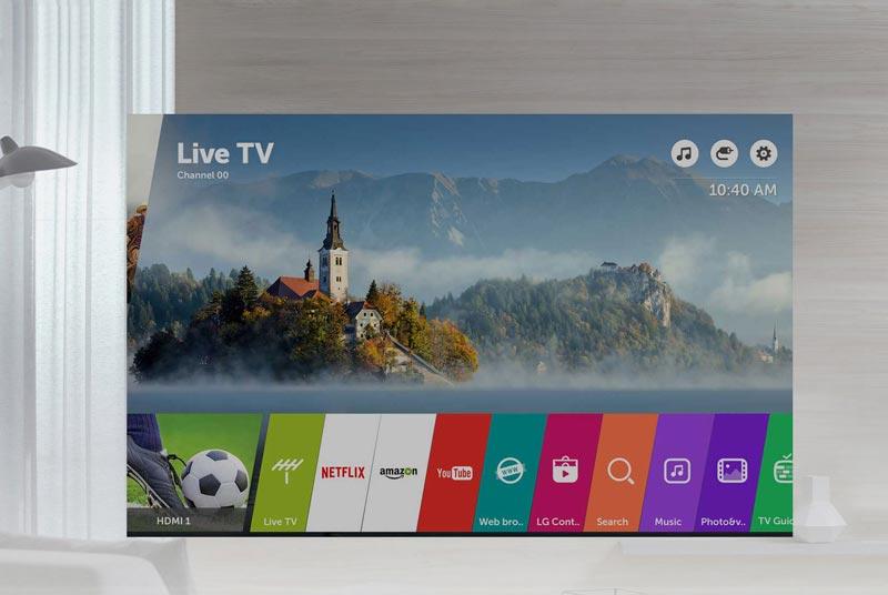 تلویزیون هوشمند ال جی مدل 43UJ752V