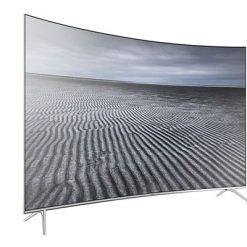 نمای زاویه چپ تلویزیون سامسونگ 55 اینچ مدل 55KS8500