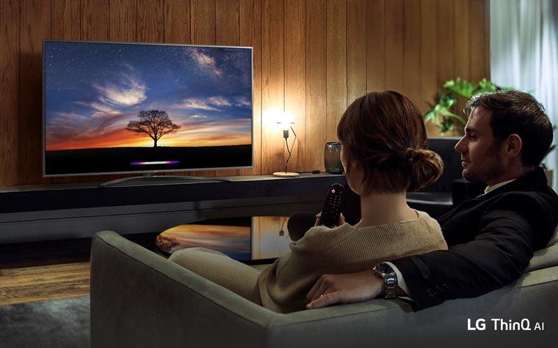 تلویزیون هوشمند ال جی 55UM7660