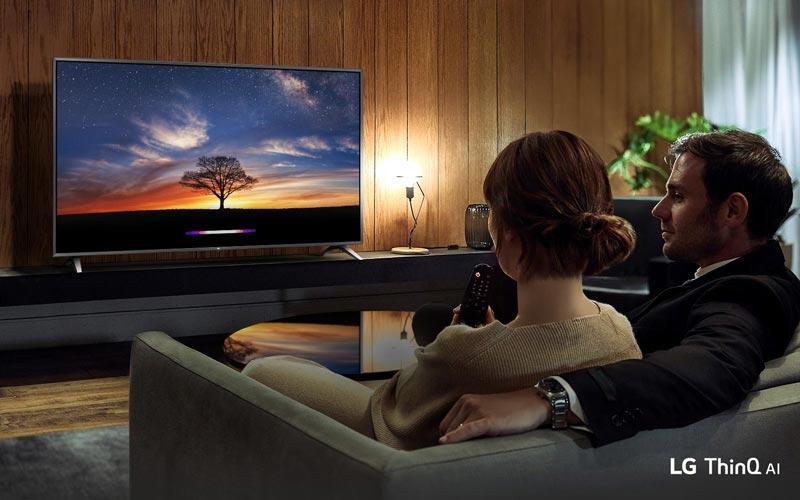 تلویزیون هوشمند ال جی 55um7340