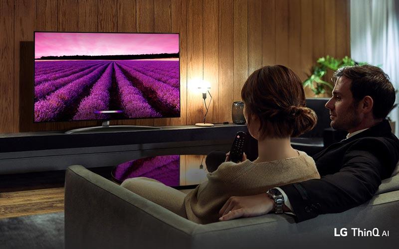 تلویزیون هوشمند ال جی 55SM8100