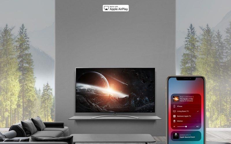 تلویزیون هوشمند ال جی SM9000