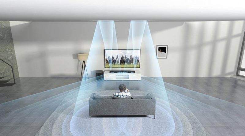 صدای فراگیر تلویزیون سونی مدل 55X7000G
