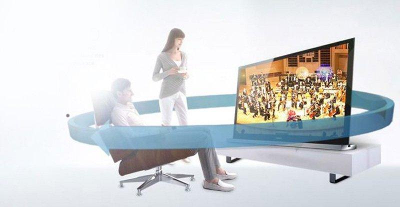 صدای سه بعدی تلویزیون سونی مدل 55X8577G