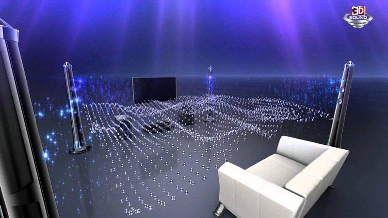 صدای فراگیر تلویزیون ال جی 60 اینچ