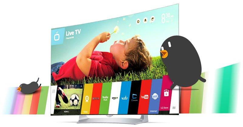 تلویزیون هوشمند ال جی مدل 55EG910