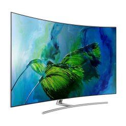 نمای زاویه چپ تلویزیون سامسونگ 65Q8C