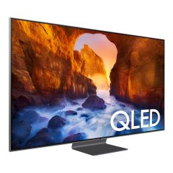 نمای تلویزیون سامسونگ 65 اینچ مدل 65Q90R از زاویه چپ