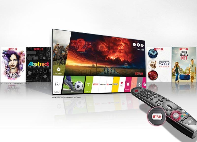 تلویزیون هوشمند ال جی مدل 49UK7500
