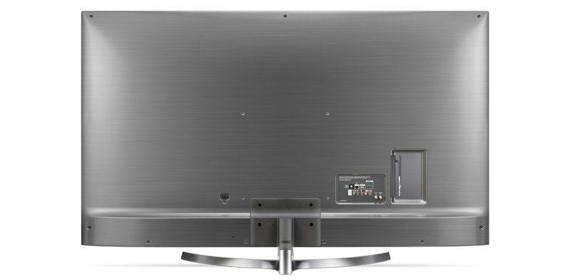 نمای پشتی تلویزیون ال جی مدل 65UK7500