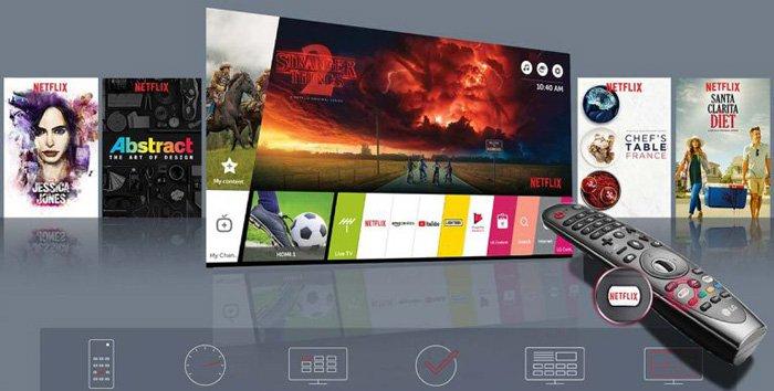 تلویزیون هوشمند ال جی مدل 49UK6700