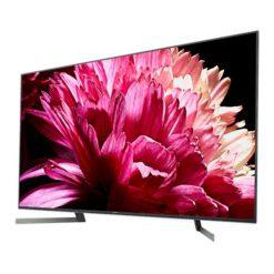 نمای تلویزیون سونی 85 اینچ مدل 85X9500G از زاویه راست