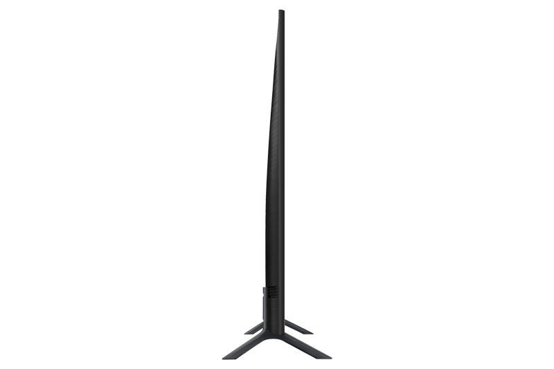 نمای کناری تلویزیون هوشمند سامسونگ مدل 75RU7100