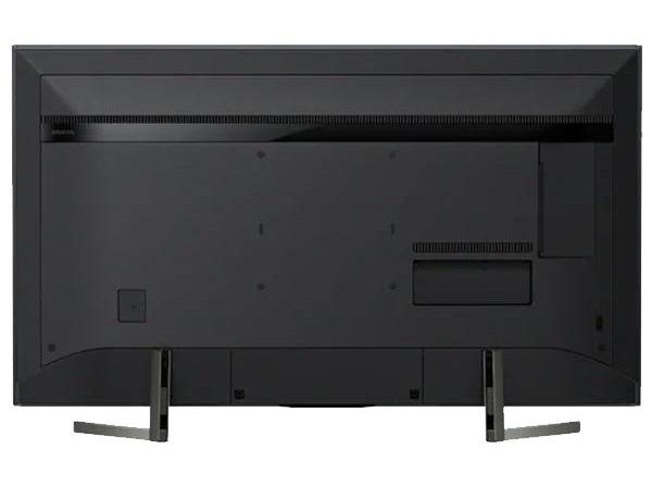 نمای پشت تلویزیون سونی مدل 75X9500G