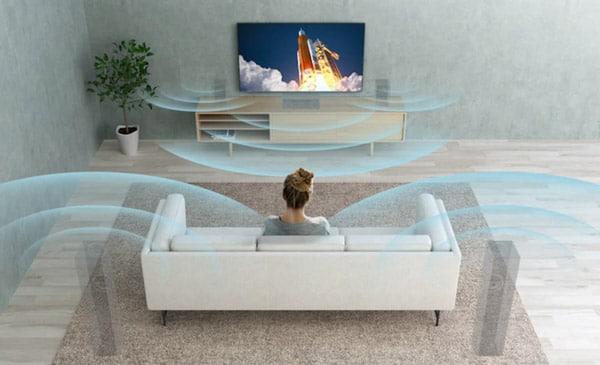 صدای همهجانبه تلویزیون سونی مدل 75X8500g