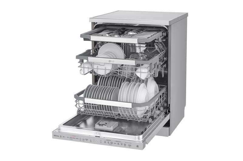 ماشین ظرفشویی هوشمند ال جی DFB325HS