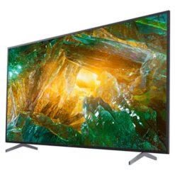 نمای تلویزیون سونی ۷۵ اینچ مدل 75X9000H از زاویه راست